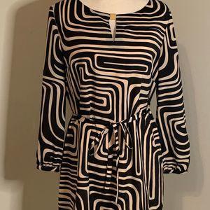 Tahari Womens Geometric Dress Size 8